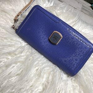 Guess Clutch Wallet Purple